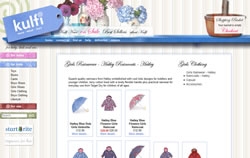 Kulfi Kids website screenshot