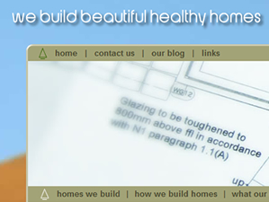 Graphical website to demonstrate Tymba Frame Systems environmentally friendly homes. Website designed by the Drawing Board, a marketing and communications company based in Cornwall